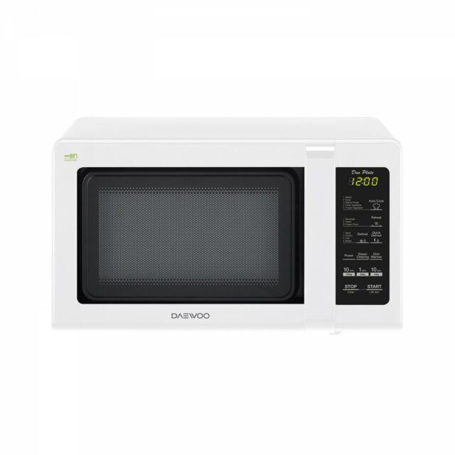 Daewoo Digitális Mikrohullámú sütő, 20 L, 800 W, Fehér, KOR-6S2DBW