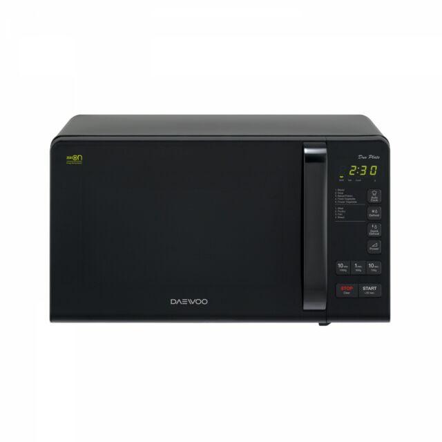 Daewoo Mikrohullámú sütő, 20 L, 800 W, Fekete, KOR-6S3DBK