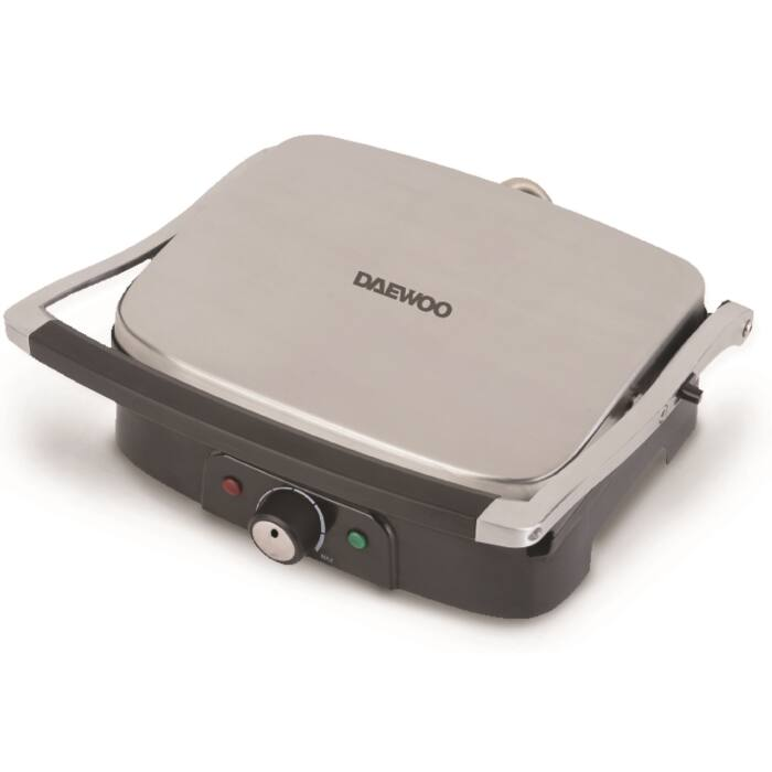 Daewoo kombinált dupla grill-, és panini sütő, 1500 W, DI-9471
