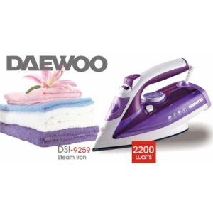 Daewoo gőzölős vasaló kerámia talppal, 2400W, DSI-9259