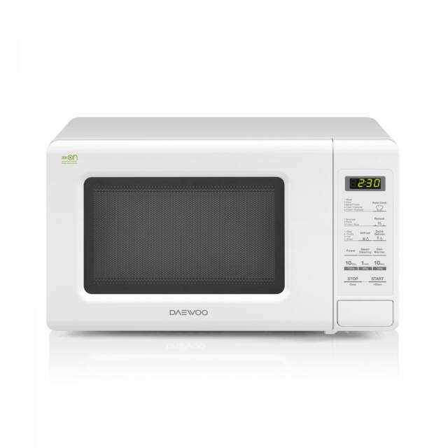 Daewoo Mikrohullámú sütő, 20 L, 800 W, Fehér, KOR-6S2BW