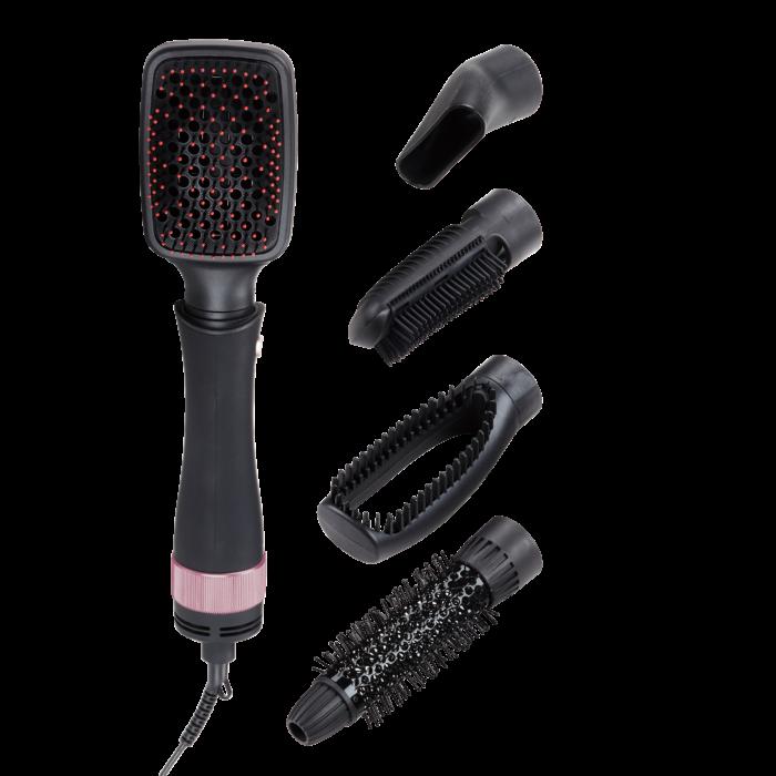 Daewoo meleglevegős hajformázó készlet cserélhető fejekkel, DHC-2058